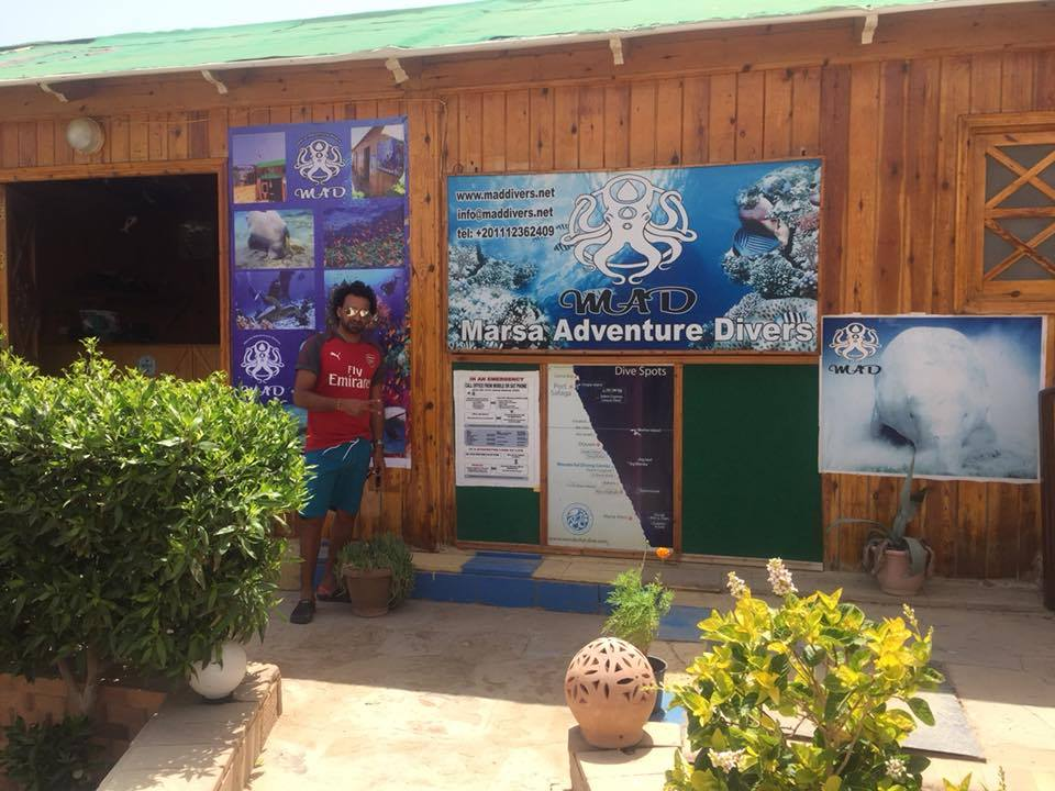 MAD diving center
